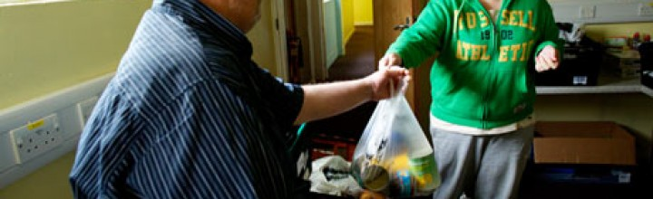 Food banks struggle to feed hungry as demand rises