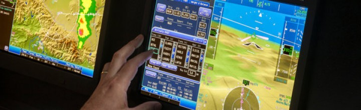 Touch Screens Are Tested for Piloting Passenger Jets
