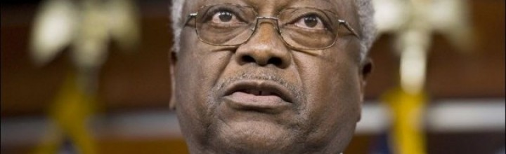 Rep. James Clyburn dons a hoodie at Trayvon Martin rally