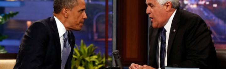 Obama on Leno